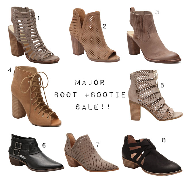 BOOTS + BOOTIES SALE! | fashion